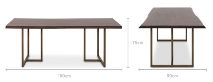 dimension of Chadstone Dining Table