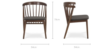 dimension of Colton Chair