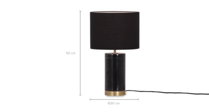 dimension of Viola Table Lamp