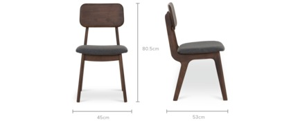 dimension of Vincent Chair