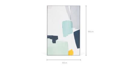 dimension of Nils Framed Canvas
