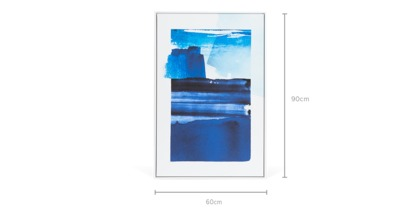 dimension of Pacific Framed Canvas