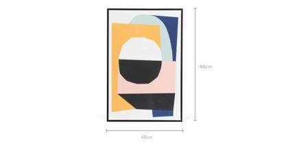 dimension of Pablo Framed Canvas