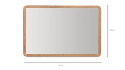 dimension of Perot Wall Mirror Medium
