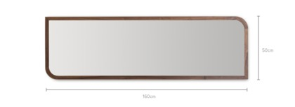 dimension of Reese Wall Mirror Tall