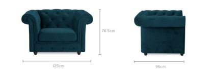 dimension of Jacques Armchair