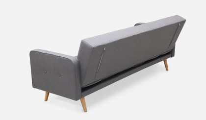 Nathan Sofa Bed Smoked Grey Castlery Singapore
