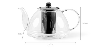 dimension of Tang Tea Pot