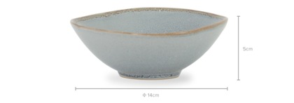 dimension of Clare 4-Piece Bowl Set