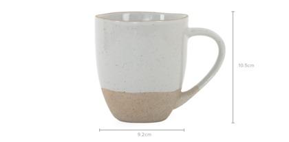 dimension of Hana 4-Piece Mug Set