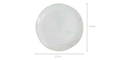 dimension of Hana 4-Piece Dinner Plate Set