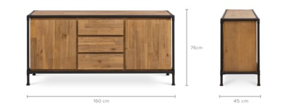 dimension of Marx Sideboard