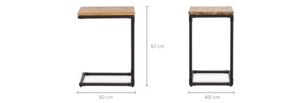 dimension of Marx Side Table