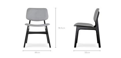dimension of Joshua Chair