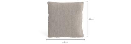 dimension of Tessere Throw Cushion (44cm x 44cm)