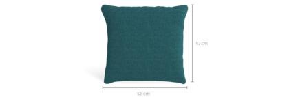 dimension of Tessere Throw Cushion (52cm x 52cm)
