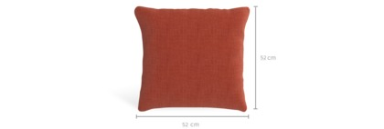 dimension of Duna Throw Cushion (52cm x 52cm)
