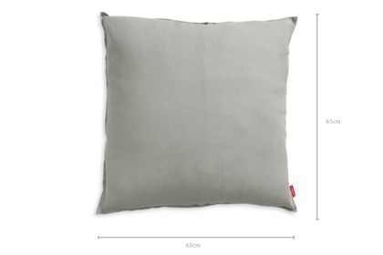 dimension of Flax Square Pillow Case Set of 2