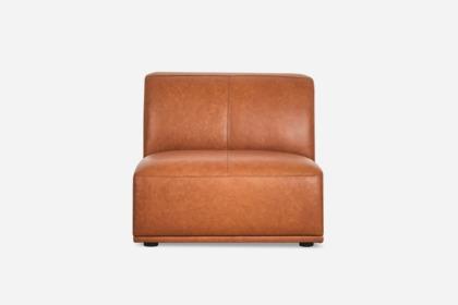 Todd Armless Sofa Leather