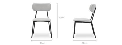 dimension of Elias Chair