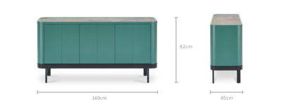 dimension of Luna Sideboard, 160 cm