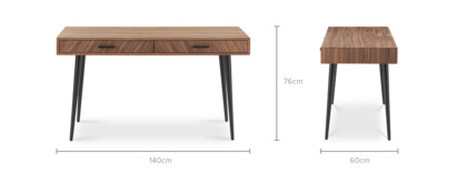 dimension of Parker Desk