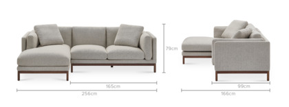 dimension of Owen Sofa Sectional