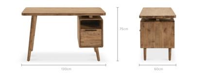 dimension of Seb Desk