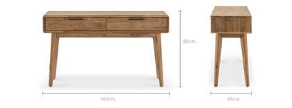 dimension of Seb Console Table