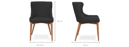 dimension of Roselyn Chair