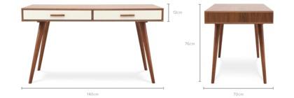 dimension of Underwood Desk