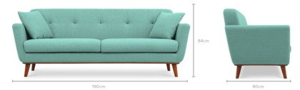 dimension of Hanford Sofa