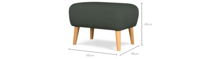 dimension of Beck Ottoman