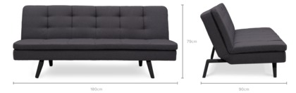dimension of Frances Sofa Bed