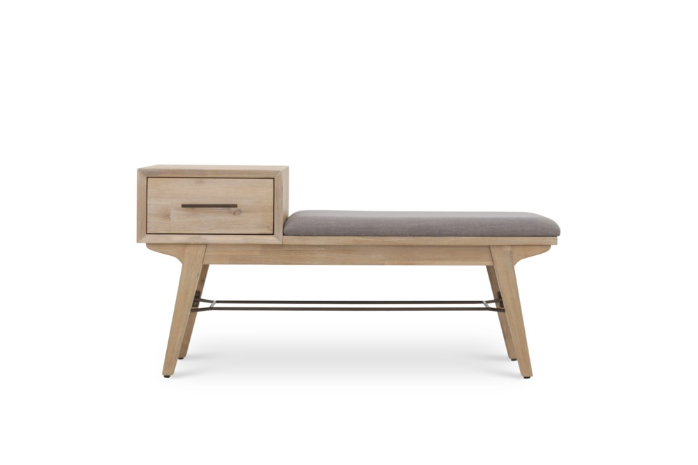 Foyer Furniture Singapore : Miles entryway bench castlery singapore