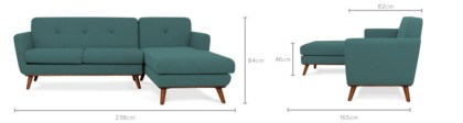 dimension of Hanford Sofa Sectional