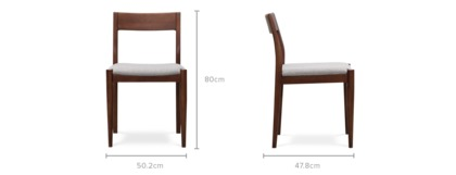 dimension of George Chair