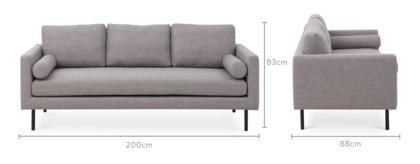 Nash 3 Seater Sofa