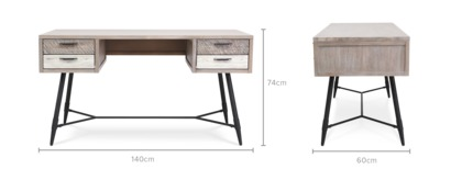 dimension of Ethen Desk