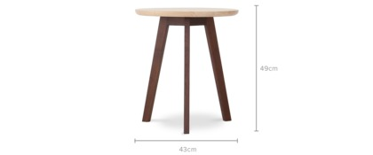 dimension of Harrison Accent Table, Tall