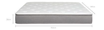 dimension of Will Mattress, Pocket Spring and Pillowtop