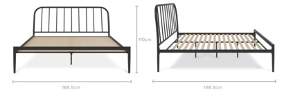 dimension of Claire Bed