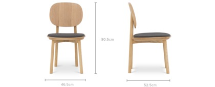 dimension of Strato Chair