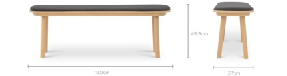 dimension of Strato Low Bench