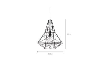 dimension of Colbert Pendant Light